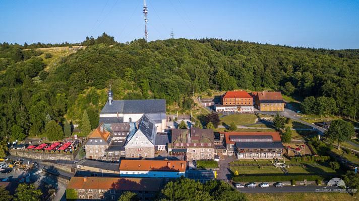 Kloster Kreuzberg aus einer anderen Perspektive