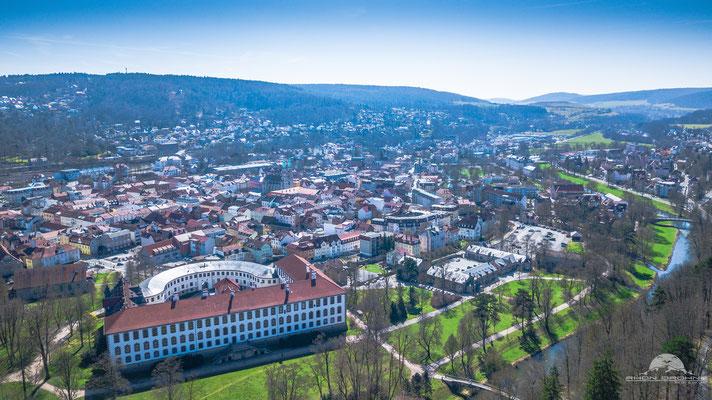 Theaterstadt Meiningen in Thüringen. Wunderschön