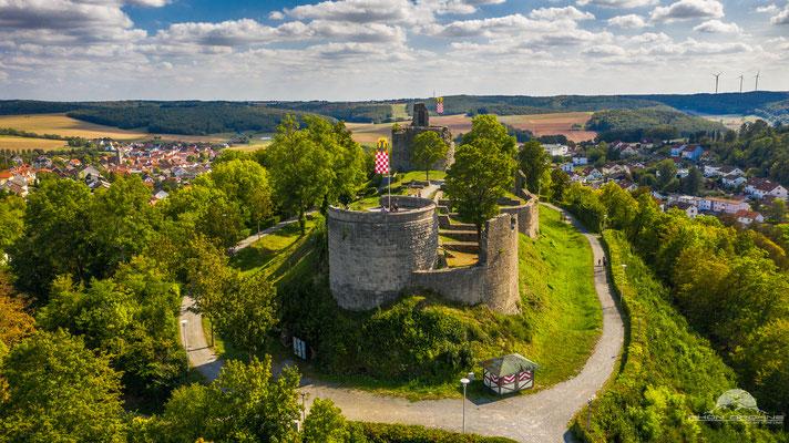 Burgruine Botenlauben in Bad Kissingen