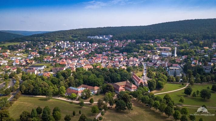 Bad Bocklet - Bayerisches Staatsbad mit der stärksten Stahlquelle Deutschlands