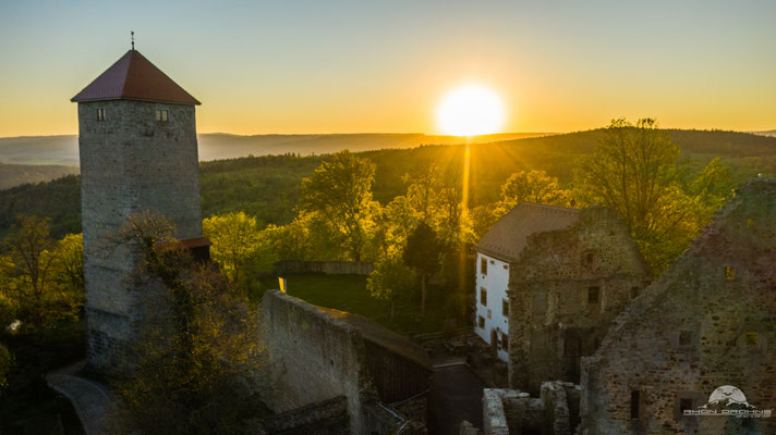 Sonnenuntergang an der Lichtenburg