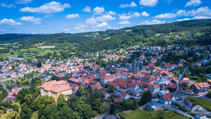 Tann Rhön - einer der beliebtesten Ferienorte in der hessischen Rhön