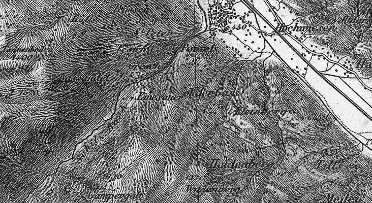 Karte von 1880