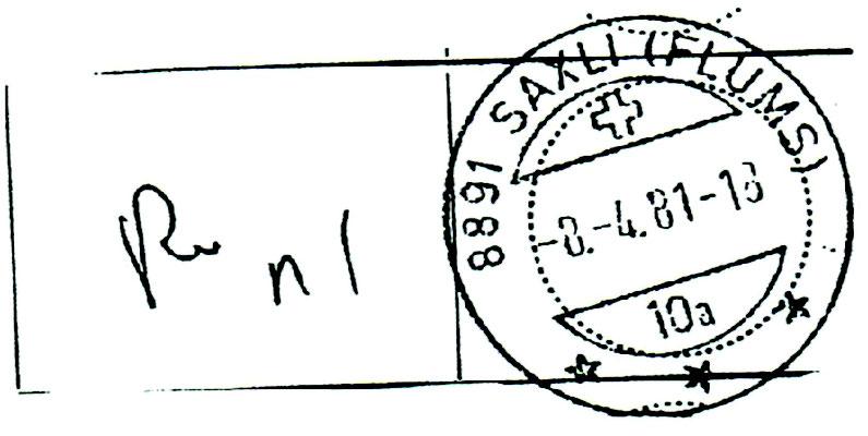 Stempel 1981