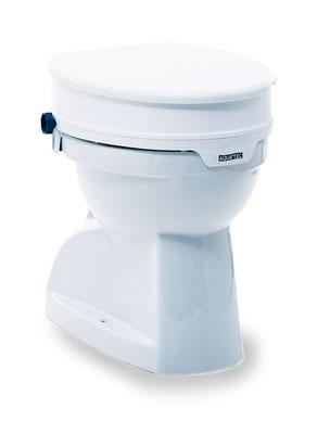 Eine Toilettensitzerhöhung garantiert bequemes und sicheres Sitzen auf dem WC. Eine Toilettensitzerhöhung ist für Menschen mit Hüftproblemen und Bewegungseinschränkungen optimal