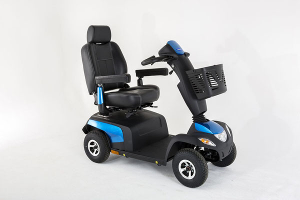Elektroscooter mit Mobilitäts-Komfort