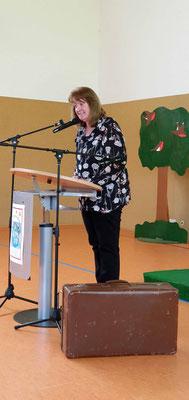 Begrüßung durch die Schulleiterin Frau Hartwig