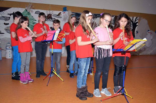 Eröffnung mit einem Flötenstück