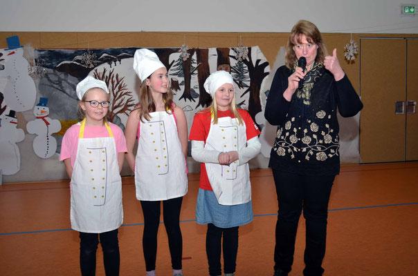 Ernährungs- und Kochprofis der Klasse vier