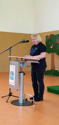 Grußwort durch die Vorsitzende des Fördervereins, Frau Metz