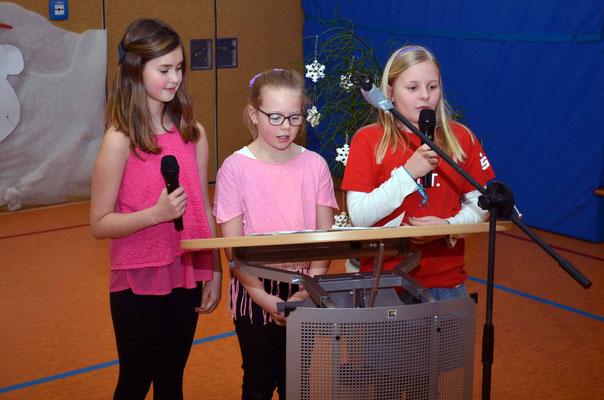 Gesundheitsfördernde Schule, ein ausgeklügelter Plan, meinen Amy, Leni und Charlotte