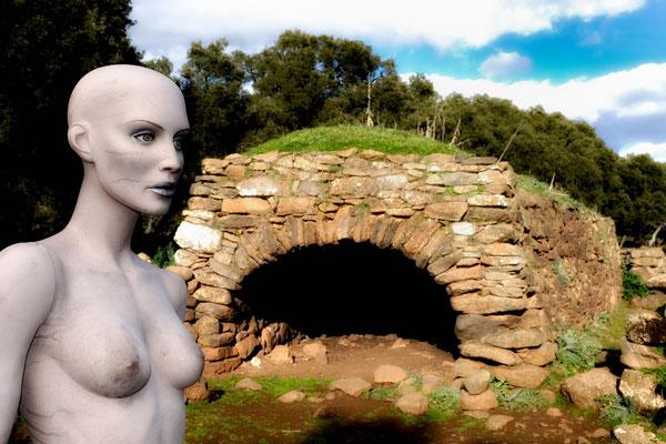 Le tombe dei giganti ( is gigantis in lingua sarda) sono monumenti costituiti da sepolture collettive appartenenti alla età nuragica