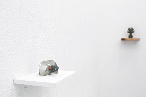 石の態度(attitude of stone)/ 2015個展風景(solo exhibition)     photo by Takeru Koroda