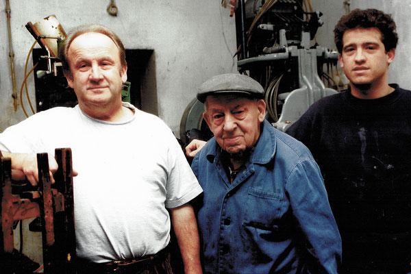Drei Generationen Schuh Mayer vereint