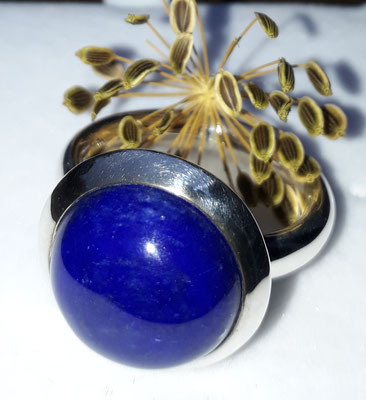 ring-lapis-sehr gute farbe natur-15 mm- grosse ringweite-silber-sterling-925