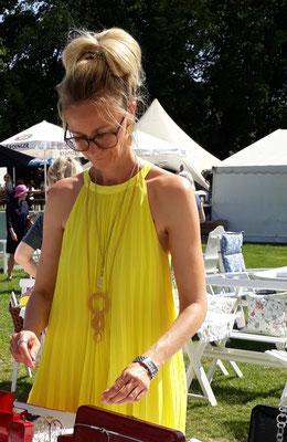 zauberhafter Besuch auf der Home and Garden mit Schmuck aus der Kollektion Karin Roesner