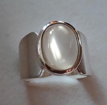 ring-sterling-silber-mondstein-sri lanka-top qualität 14x10 mm