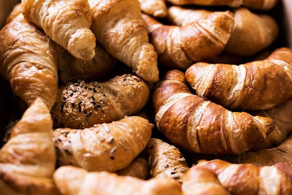 Gipfeli und Croissants