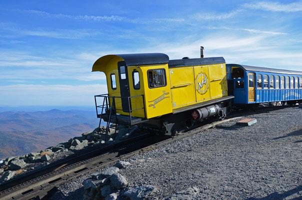 "Zahnradbahn ""Mount Washington Cog Railroad"" - Amerikas älteste Touristenattraktion verkehrt seit 1869 (New Hampshire)"