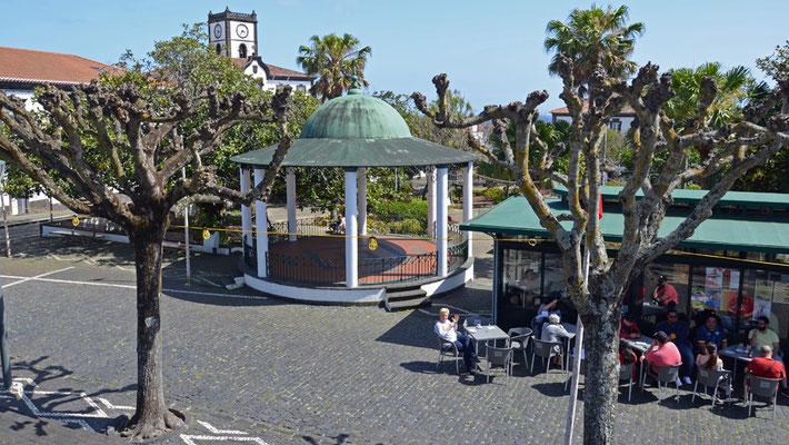 Marktplatz von Vila Franca do Campo
