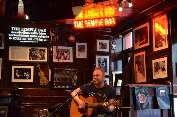 Live-Musik findet man in fast jedem Pub in Irlands Hauptstadt Dublin.