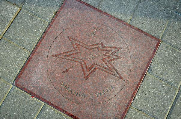 Der Canada's Walk of Fame ist ein Gehweg im kanadischen Toronto