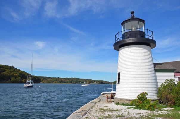 im Schifffahrtsmuseum Mystic Seaport (Connecticut)