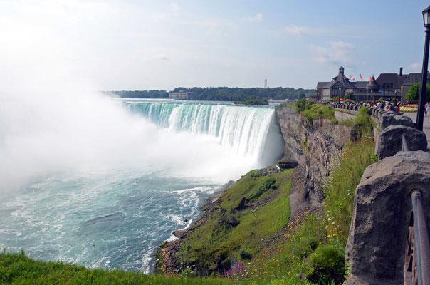 Die Horseshoe Falls auf der kanadischen Seite.