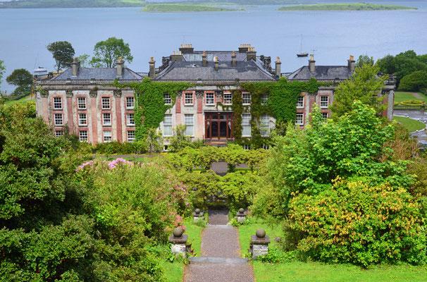 Um 1720 entstand das Bantry House im County Cork. Es ist ein prunkvolles Landhaus nahe der Ortschaft Bantry.
