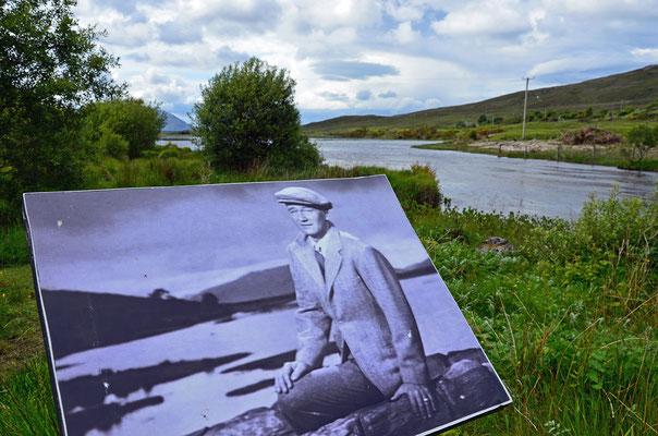 """1952 spielte John Wayne in dem Film """"Der Sieger"""" (Original """"The Quiet Man""""). Der Film wurde in der Ortschaft Cong und im irischen County Mayo gedreht."""