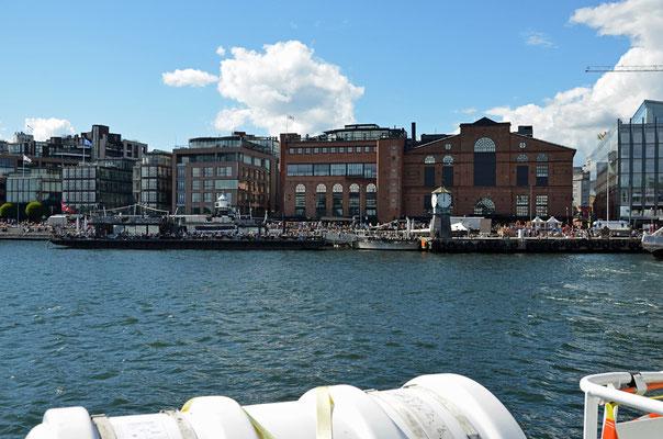 Aker Brygge - die Vergnügungsmeile direkt am Oslo-Fjord.