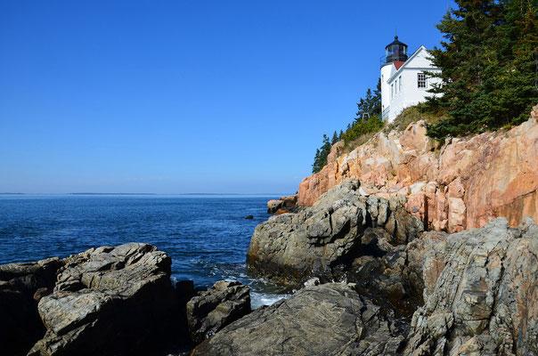 Leuchturm Bass Harbor Head im Acadia National Park (Maine)
