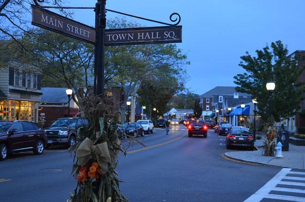 Abendstimmung in Falmouth, Massachusetts