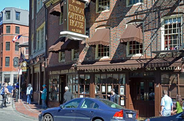 Das Union Oyster House: Amerikas ältestes Restaurant …