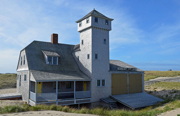 Old Harbor Life-Saving Station am Race Point Beach