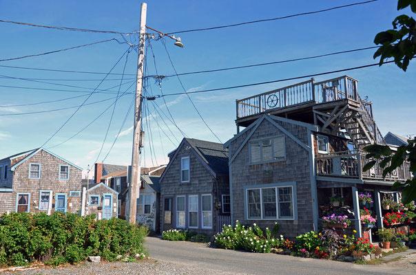 Stromverteilung in Rockport, Massachusetts
