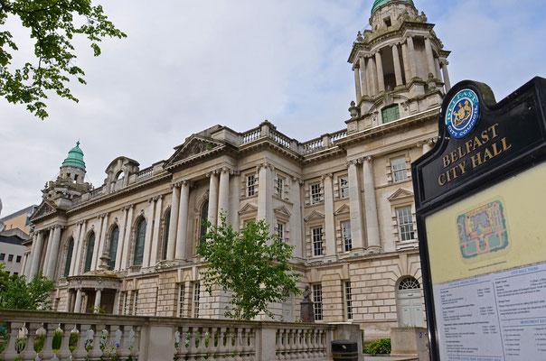 Belfast ist die Hauptstadt von Nordirland im Vereinigten Königreich.
