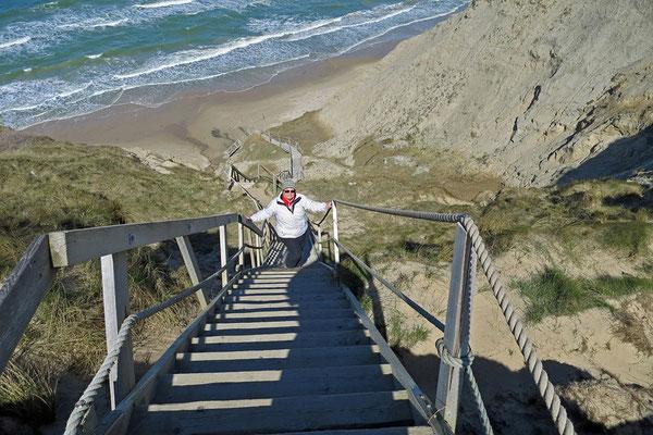 Am Strand von Nørre Lyngby.