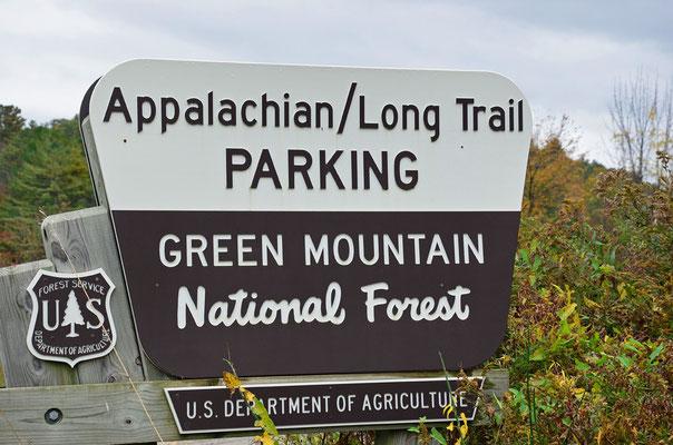 unterwegs im Green Mountain National Forest am Appalachian Trail (Vermont)