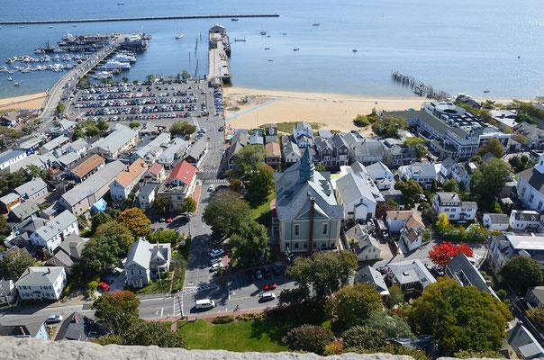 Der Hafen von Provincetown.