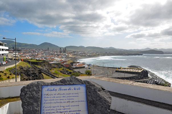 Die Nordküste bei Ribeira Grande