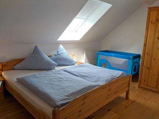 Doppelbett , Kinderreisebett