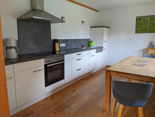 Küche in Fewo Heustall