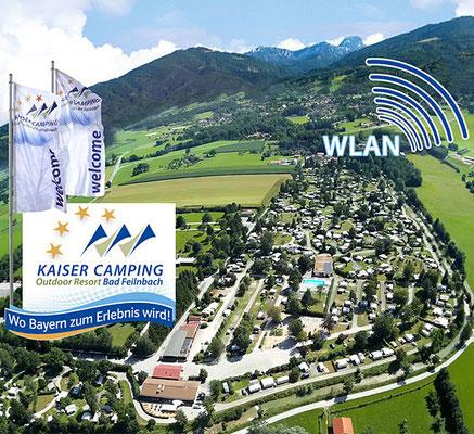 WLAN im ganzen Campingplatz Kaiser Camping