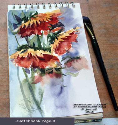 my sketchbook  Page 8 / inspiriert durch 송금석 / nicht verfügbar