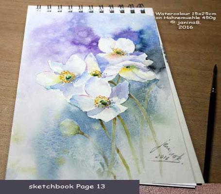 my sketchbook Page 13 / nicht verfügbar