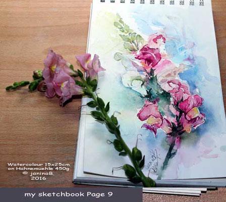my sketchbook Page 9 / nicht verfügbar