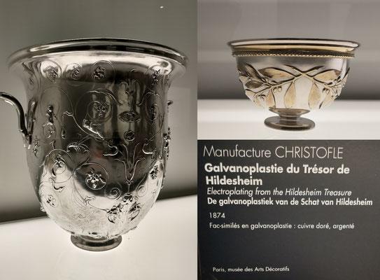 Galvanoplastie du trésor de Hildesheim