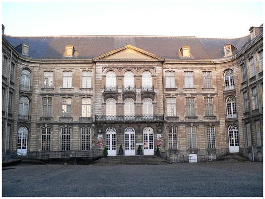 Cour du Musée Arras