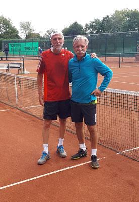 Nach seinem knappen Sieg im Viertelfinale (10:7 im Macht-Tiebreak) gelang Dietmar im Halbfinale ein überzeugendes